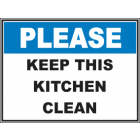 Keep This Kitchen Clean Sign