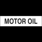 Motor Oil Sign