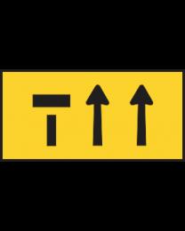 Lane Status (3 lane) Sign