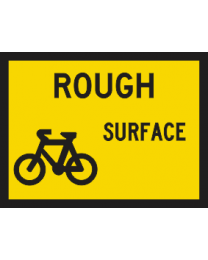 Rough Surface (Bicycles) Sign