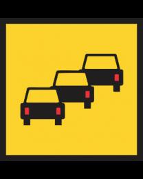 Queued Traffic Sign