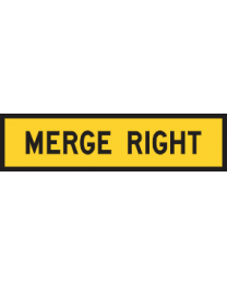 Merge Right Sign