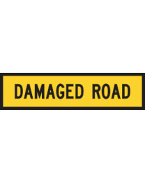 Damaged Road Sign