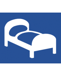 Accommodation Hotel Motel or Guest House Sign