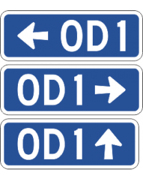 Over Dimensional Route Marker