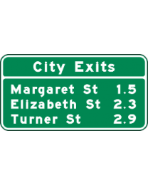 Interchange Sequence Sign