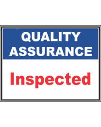 Inspected Sign