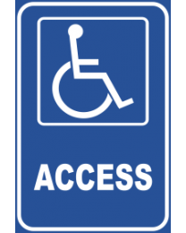 Access Sign