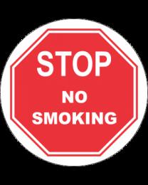Stop No Smoking Sign