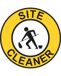Site Cleaner Sign