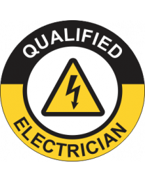 Qualified Electrician Sign