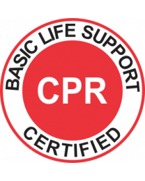 Basic life Support Certified CPR Sign