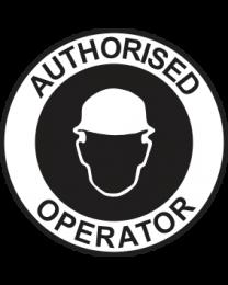 Authorised Operator Sign
