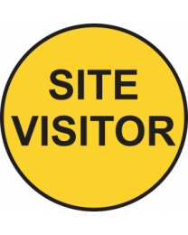 Site Visitor Sign