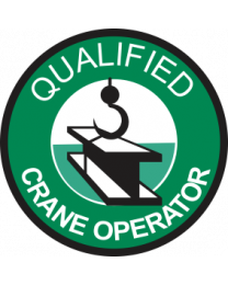 Qualified Crane Operator Sign