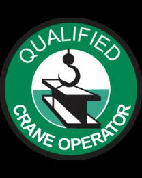 Qualified Crane Operator Sign