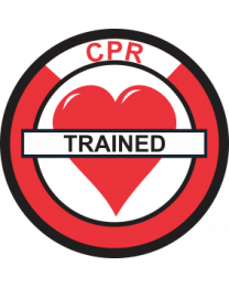 CPR Trained Sign