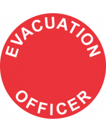 Evacuation Officer Sign