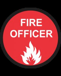 Fire Officer Sign