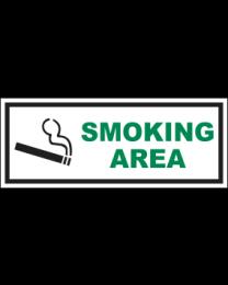 Smoking Area Sign