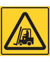 Forklift Area Sign