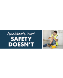 Accidents Hurt Safety Doesnt