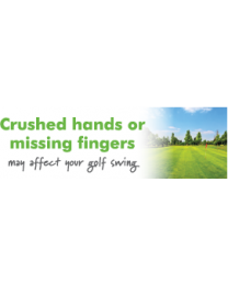Crushed Hands Or Missing Fingers May Affect Your Golf Swing