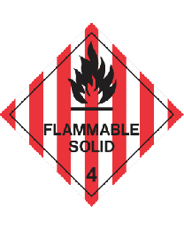 Flammable Solid 4
