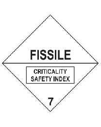 Fissile Criticality Safety Index 7