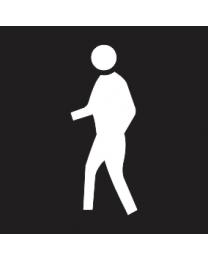 Human Access Sign