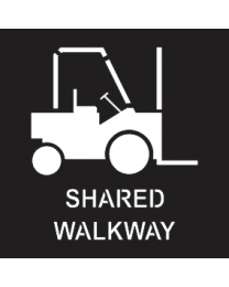 Shared Walkway Sign