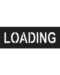 Loading Sign