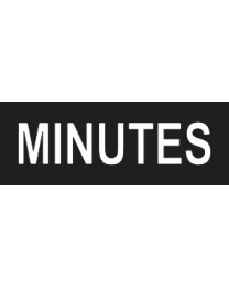 Minutes Sign
