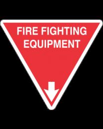 Firefighting Equipment Sign