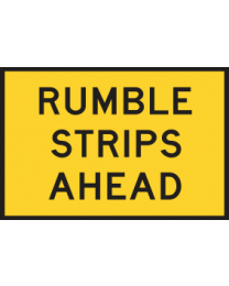 Rumble Strips Ahead