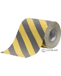 Anti-Slip Tape - Black/Yellow (200mm x 18m)
