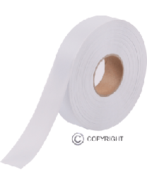 Surveying Tape - White (25mm x 75m)
