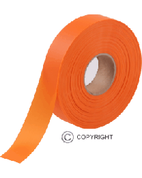 Surveying Tape - Orange (25mm x 75m)