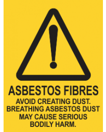 Asbestos Fibres Avoid Creating Dust