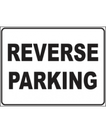 Reverse Parking Sign
