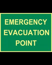 Emergency Evacuation Point Sign