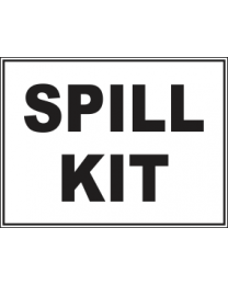 Spill Kit Sign