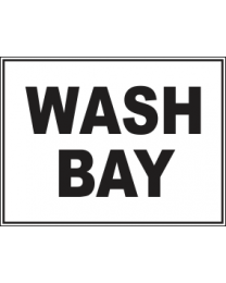 Wash Bay Sign