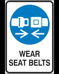 Wear Seat Belts Sign
