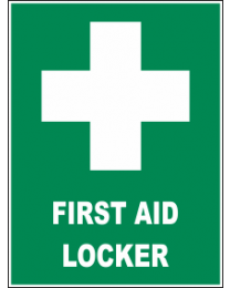 First Aid Locker Sign