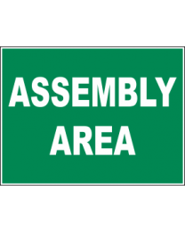 Assembly Area Sign