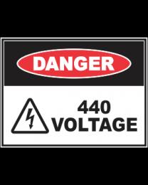 440 Voltage Sign