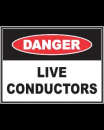 Live Conductors Sign