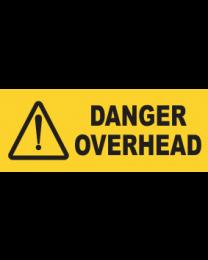 Danger Overhead Sign