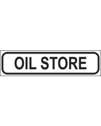 Oil Store Sign